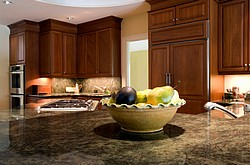 Green Hawaii granite top