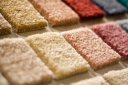 Carpeting offers an endless selection of color.