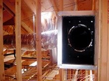 Ductwork in Ceiling