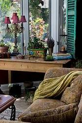 Cheery French Country Interior