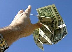 Throwing money away