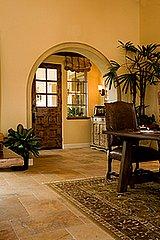Toasty warm floors heated by radiant heat