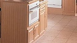 A durable choice for kitchens and baths .